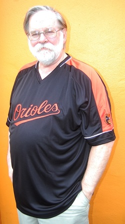 Baltimore Orioles Majestic Cool Base Men's Big & Tall Pullover Jersey
