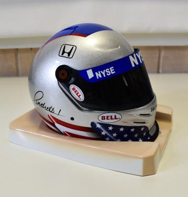 Marco Andretti Mini Collector's Helmet