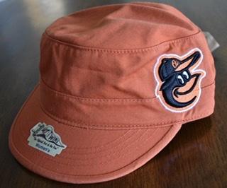 Baltimore Orioles Ladies Orange Cadet Hat