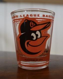 Baltimore Orioles Shot Glass