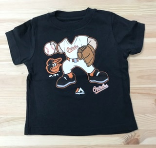 "Baltimore Orioles Toddler ""I'm A Pitcher "" T-Shirt"
