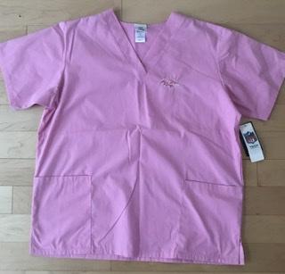 Baltimore Ravens Unisex Pink Scrub Top