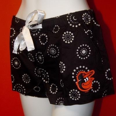 Orioles Medallion Pajama Shorts