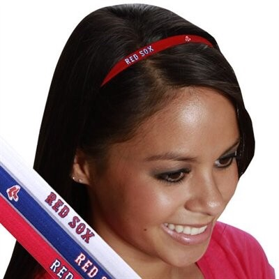 Boston Red Sox Headband Set