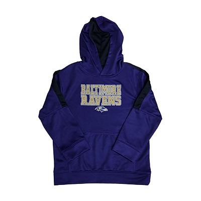 Baltimore Ravens Youth DriFit Hoody Sweat