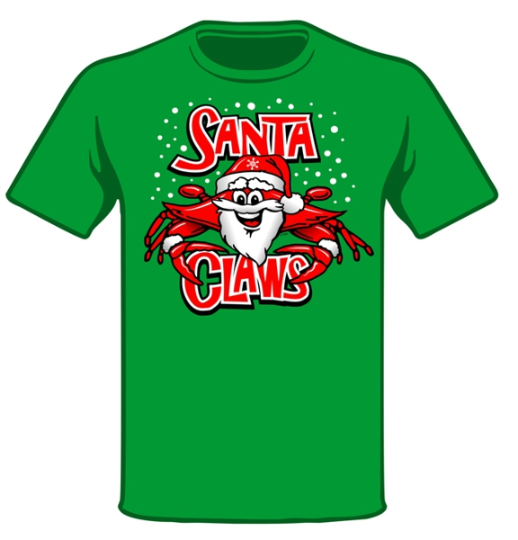 Wild Bill's Santa Claws T-Shirt