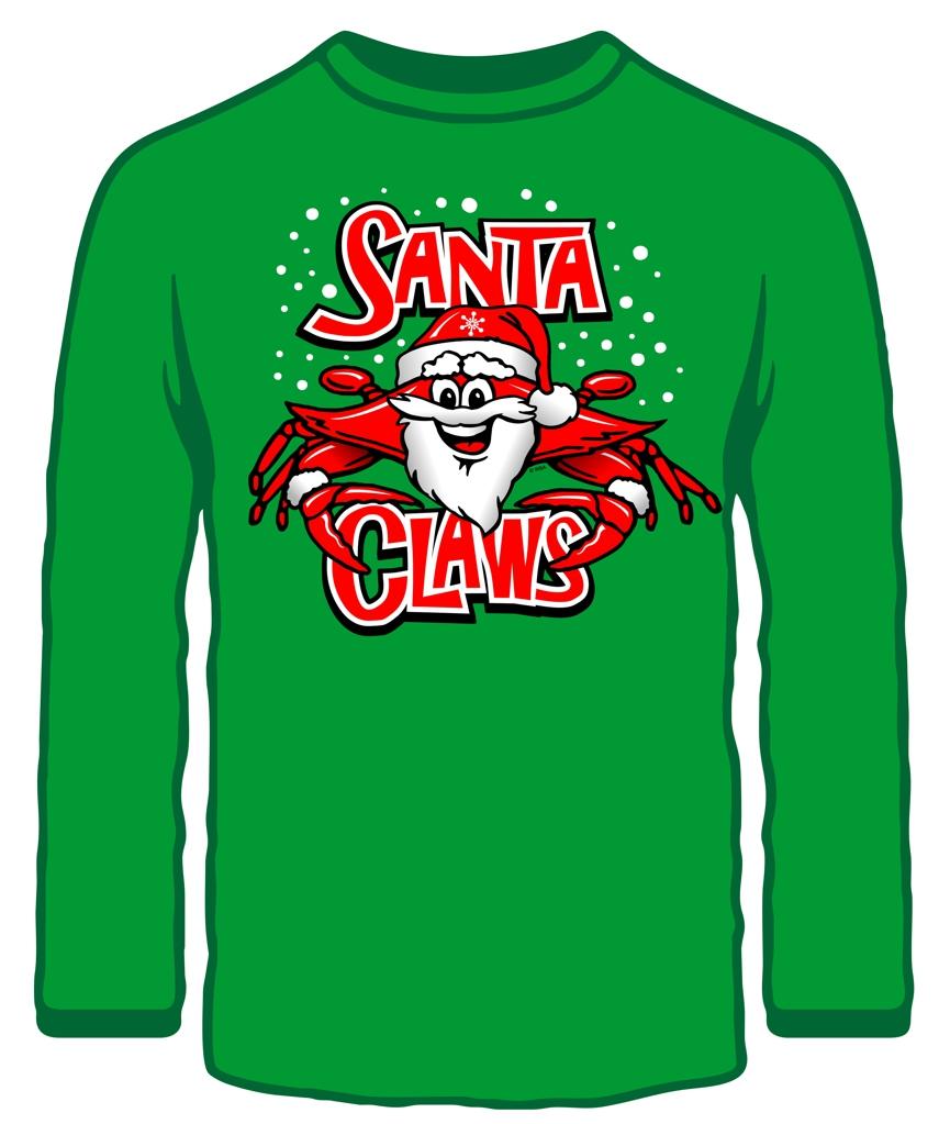 Wild Bill's Santa Claws Sweatshirt