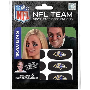 Baltimore Ravens Team Eye Black