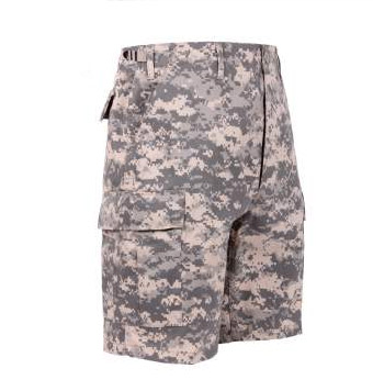 ACU Digital Camo BDU Shorts