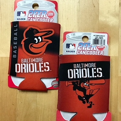 Baseball Fan Orioles Can Cooler