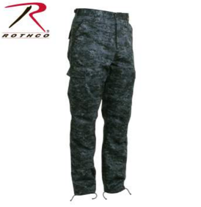 Rothco Digital Midnight Camo Tactical BDU Pants