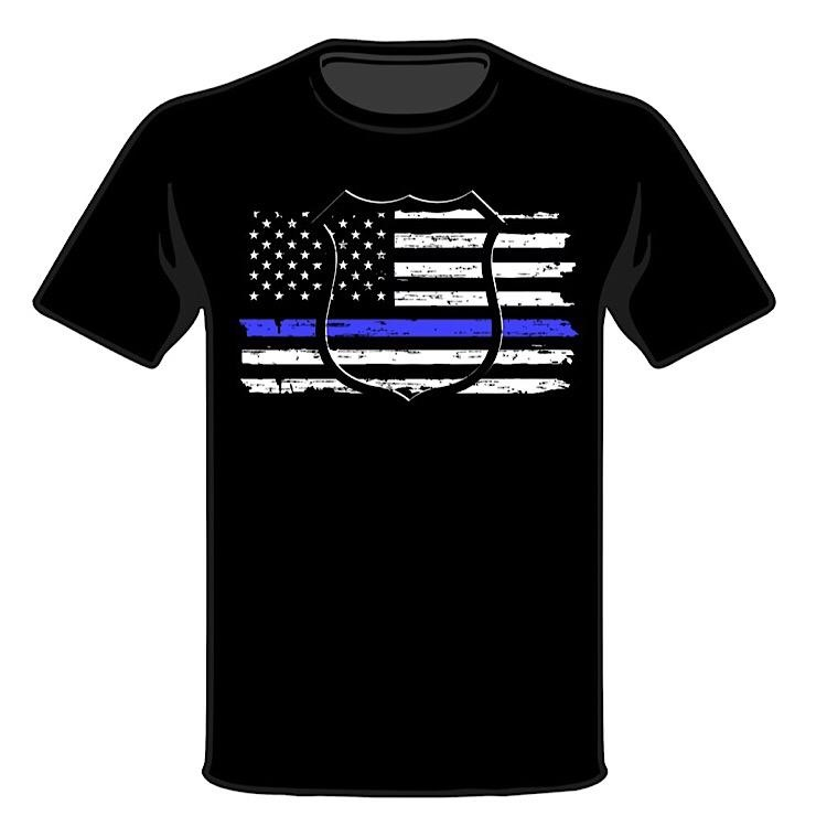 Wild Bill's Thin Blue Line T-Shirts
