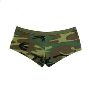 Woodland Camo Booty Shorts