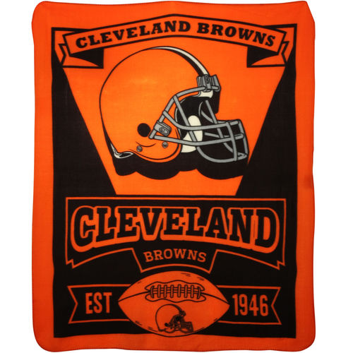 Cleveland Browns Fleece Throw