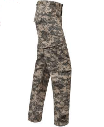 ACU Digital Camo Tactical BDU Pants