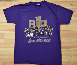The Flock Purple T-Shirts