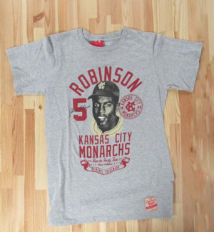 Jackie Robinson Kansas City Monarchs Collection T-Shirt