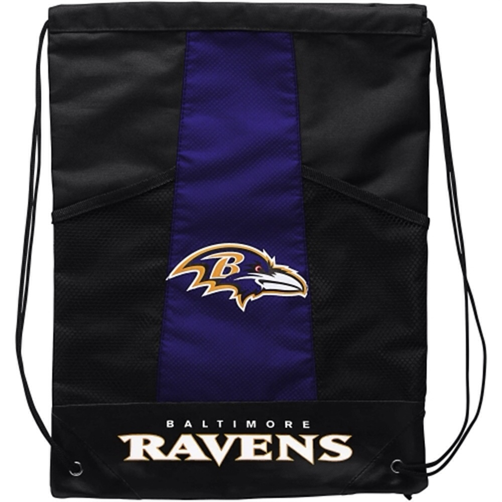 Ravens Drawstring Backpack