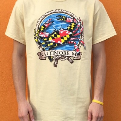 Wild Bill's Baltimore Crab T- Shirt
