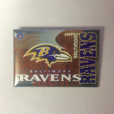 Ravens Rectangular Fan Pin