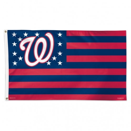 Washington Nationals Patriotic Team Flag