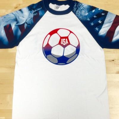 Wild Bill's Patriotic Soccer T-Shirt