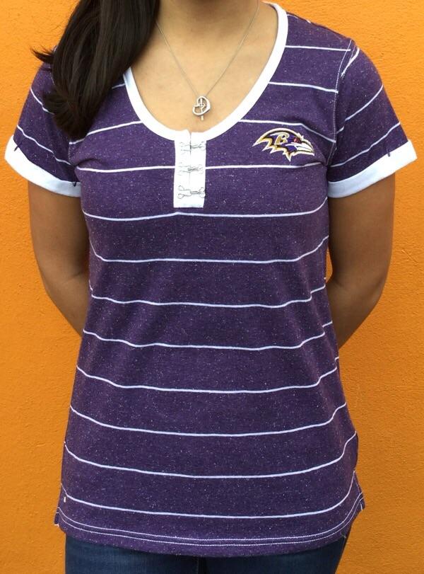"Ravens ""TWIRL"" T-Shirt By Antigua"
