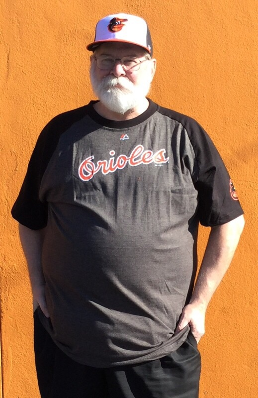 Baltimore Orioles Retro Style Big Guy T-Shirt