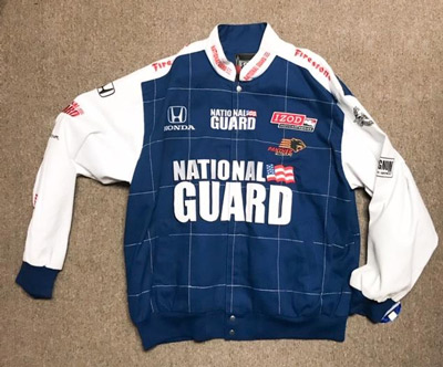 IZOD National Guard Racing Jacket