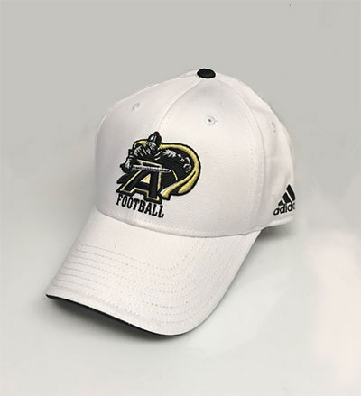 Army Black Knights Football White Cap By Adidas
