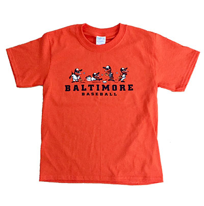 Lil' Birds Baltimore Baseball T-shirt