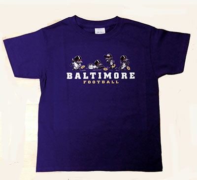 Wild Bill's Little Birds Baltimore Football T-Shirt