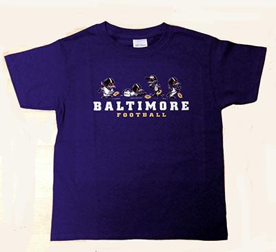 Wild Bill's Little Birds Baltimore Football T-Shirt