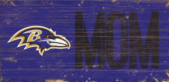 Raven's Mom Wooden Sign