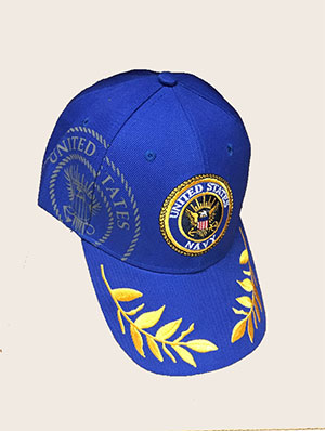 United States Navy Royal Blue Adjustable Hat