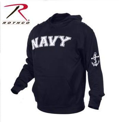 Rothco Military Embroidered Pullover Hooded Sweatshirt