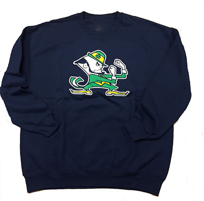 Fighting Irish Notre Dame Crewneck Sweatshirt