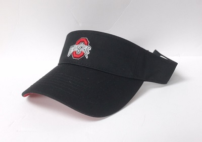 Ohio State Black Visor