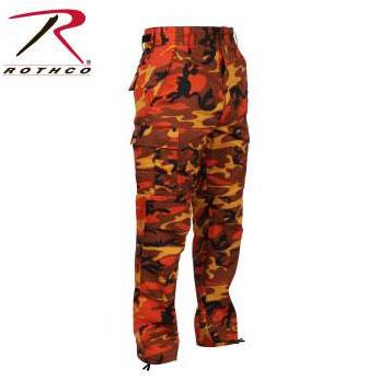 Rothco Savage Orange Camo Tactical Fatigue Pants