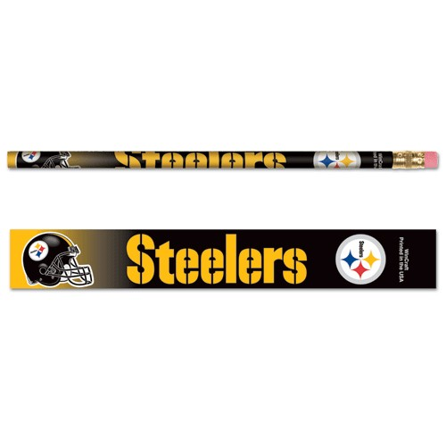 Pittsburgh Steelers Pencil Set