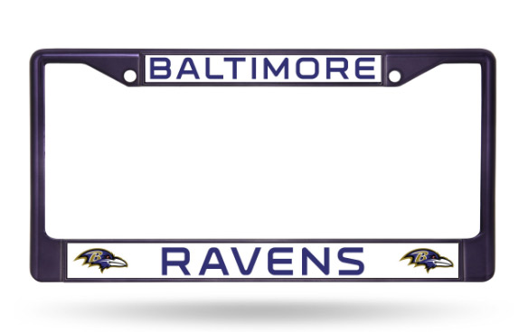 Baltimore Ravens Purple License Plate Frame