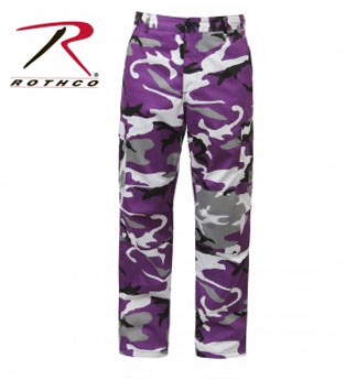Rothco Ultra Violet Camo Tactical BDU Fatigue Pants