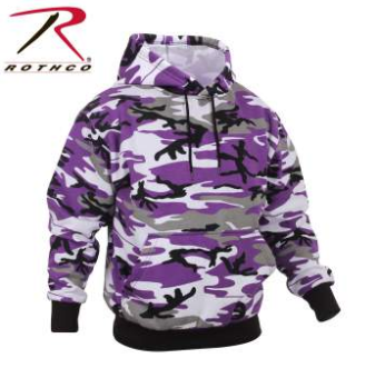 Rothco Ultra Violet Hooded Camo Sweatshirt