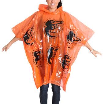 Baltimore Orioles Rain Poncho