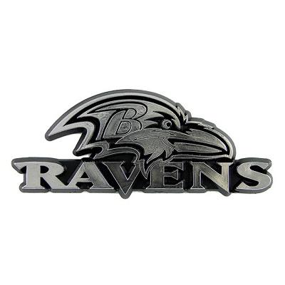 Baltimore Ravens Chrome Auto Emblem