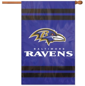 Embroidered Ravens House Flag