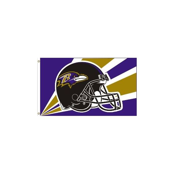 Baltimore Ravens 3X5 Flag