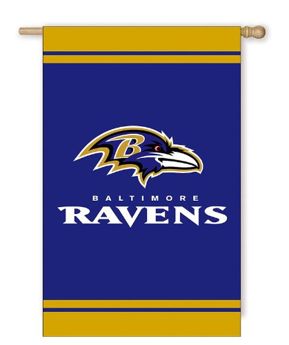 Baltimore Ravens Fiber Optic Flag