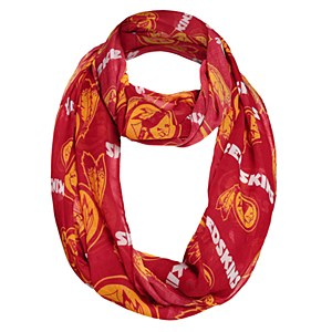 Washington Redskins Logos Infinity Scarf