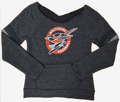 Wild Bill's Retro Bird Scoop Sweatshirt